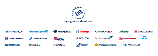 Skyteam - Caring more about your (1)